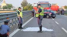 Carabiniere investito da un camion  durante un servizio di rilievi stradali