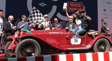 Mille Miglia, vince l'Alfa Romeo 6C 1750 Gran Sport del 1931 di Vesco-Guerini