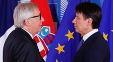 La manovra sul tavolo dell'Ue, Juncker chiama Conte: prove di dialogo