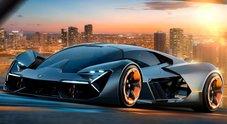 Lamborghini Terzo Millennio, la supercar del futuro è elettrica e si ripara da sola