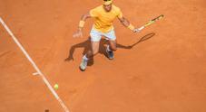 Nadal-Zverev, le foto della super finale sul Centrale (foto Davide Fracassi/Ag.Toiati)