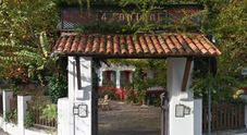 LIDO L'ingresso dell'albergo Quattro Fontane dove ha alloggiato il medico