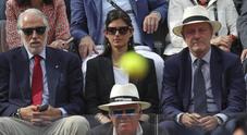 Virginia Raggi tra Malagò e Binaghi per la finale Nadal-Zverev