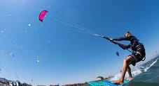 San Benedetto, incidente al kitesurf Giovane in coma farmacologico