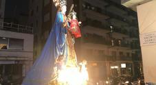 Sfila all'Arenella la processione di Santa Maria del Soccorso