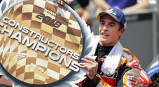 Rossi cade, Marquez vince in Malesia e la Honda è campione del mondo Costruttori