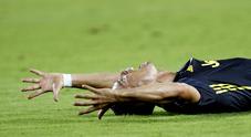 Valencia-Juventus, Ronaldo espluso esce in lacrime
