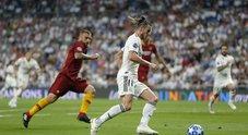 Real Madrid-Roma: le foto della partita