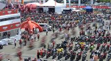 World Ducati Week, a Misano 81mila appassionati da 66 Paesi in delirio