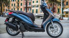 Nuovo Medley, dinamico, performante e tecnologico. Piaggio rinnova lo scooter crossover tra ruota alta e GT