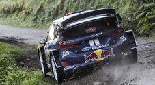 Rally Galles, primo match point per la Ford Fiesta di Ogier. Neuville (Hyundai) crede nella rimonta