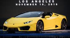 Lamborghini Huracan RWD Spyder, la trazione posteriore toglie il cappello