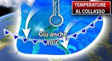Meteo, maltempo e burrasca: torna l'inverno, temperature giù. Previsioni