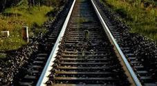 Muore travolto e ucciso dal treno, il suo cane si stende a fianco a lui