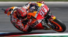 Marquez domina a Brno davanti a Pedrosa. Rossi 4° dopo un grande rimonta