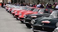 Le Ferrari d'epoca (Copyright Ferrari S.p.A.)