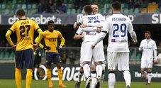 Verona travolto: l'Atalanta vince 5-0