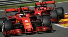 La Ferrari nella tempesta: a Spa trionfa re Hamilton, il Cavallino rosso di vergogna
