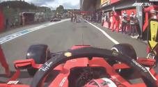 Formula 1, Leclerc non si accorge che il microfono è acceso e sbotta: «Porca...». Ecco perché