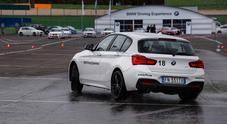 Sicurezza stradale: BMW in prima linea con Zanardi e Stohr. Un test dimostra come evitare rischi e incidenti