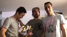 Festa Toyota ai box dopo la vittoria a Le Mans con Alonso scatenato: «Dominatori»