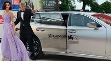 Lexus regina del red carpet al Festival del Cinema di Venezia 2017