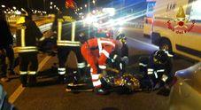 L'incidente sulla statale 13 a Pordenone; i soccorsi