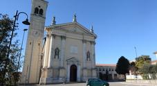 la chiesa di Legnaro