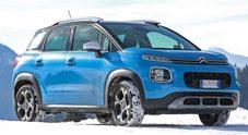 C3 Aircross, la bestseller di Citroen non teme la neve grazie al Grip Control