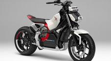Honda presenta la moto che non cade. L'innovativa Riding Assist-e è anche elettrica