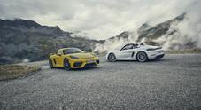 Porsche 718 Cayman GT4 e Spyder, emozioni a non finire