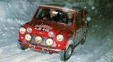 L'epopea della Mini, al rally di Montecarlo del 1964 la consacrazione della piccola di Issigonis