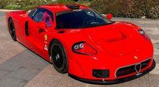 Tecno Nanni Galli V8 Ecoracing, debutta a Parigi l'auto da competizione a Gpl made in Italy