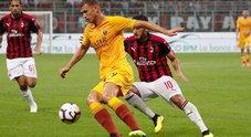 Milan-Roma: le foto della partita