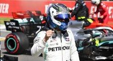 Gp Spagna, dominio Mercedes: Bottas in pole davanti a Hamilton, poi Ferrari di Vettel. 5^ Leclerc dietro Verstappen