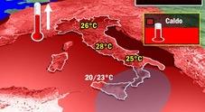 Meteo, weekend con il sole «Caldo anomalo, fino a 27 gradi». Ecco dove