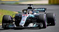 Gp d'Australia, nelle libere subito duello Hamilton-Verstappen. Kimi 4° davanti a Vettel