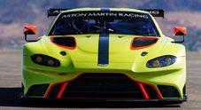 Aston Martin Vantage GTE, pronta per l'esordio nel WEC a Spa-Francorchamps