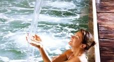 Notte delle terme, tra vasche calde e fontane perenni un'esperienza celestiale