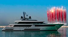 """Riva, varato il nuovo gioiello """"Race"""". È il primo yacht di 50 metri e l'armatore è Piero Ferrari"""