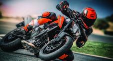 "KTM 790 Duke, la naked ""media"" sempre più spigolosa ed aggressiva"