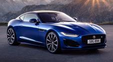 """Jaguar F-Type, la coupè si aggiorna. Design rivisto, interni lussuosi e tanto """"carattere"""" in più"""
