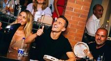Capri: Notte da campioni per Milik e Mertens in taverna