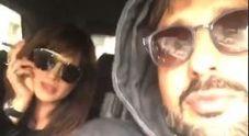 Asia Argento e Corona in giro a Milano: «Sembriamo Madonna e Sean Penn»