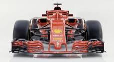 Ferrari SF71H, svelata la monoposto 2018 per l'assalto al titolo