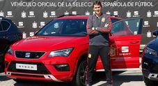 """Le """"Furie Rosse"""" viaggiano con Seat. Casa di Barcellona sponsor nazionale di calcio spagnola"""