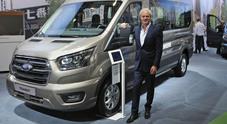 Schep (Ford Veicoli Commerciali): «Gamma elettrificata e servizio su misura per le esigenze di chi lavora»