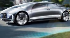 Mercedes F 015 Luxury in Motion, il salotto stellare che si guida da solo