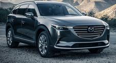 Mazda CX-9, novità sotto il cofano: turbo benzina SkyActiv-G da 2.5 litri e 235 cv