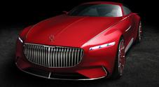 Mercedes-Maybach 6 Vision, una supercoupé da sogno davvero elettrizzante